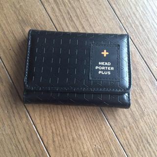 53510a3b4328 ヘッドポータープラス(HEAD PORTER +PLUS)の財布(折り財布)