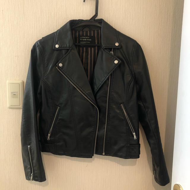 mysty woman(ミスティウーマン)のmysty woman レザージャケット レディースのジャケット/アウター(ライダースジャケット)の商品写真