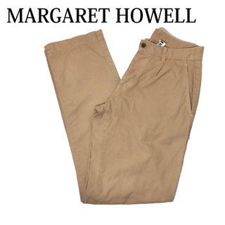 MARGARET HOWELL - MARGARET HOWELL チノパン 綿パン パンツ ズボン ベージュチノ