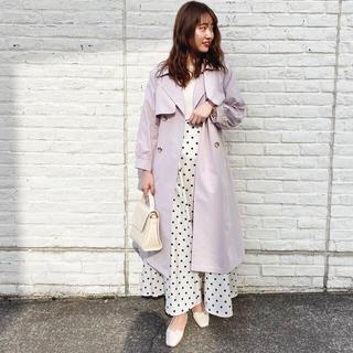 ナチュラルクチュール(natural couture)の値下げ☆フレアヨーク女優トレンチコート(トレンチコート)