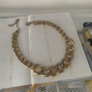 フォーエバートゥエンティーワン(FOREVER 21)のゴールドネックレス(ネックレス)