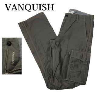 ヴァンキッシュ(VANQUISH)のvanquish カーゴパンツ ミリタリーパンツ ダークカーキ バンキッシュ(ワークパンツ/カーゴパンツ)