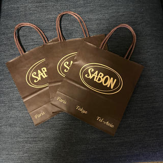サボン(SABON)のサボン SABON 未使用ショップ袋 3枚セット(ショップ袋)