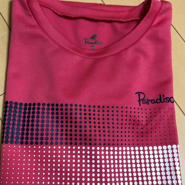 Paradiso(パラディーゾ)のParadiso 半袖テニスシャツ スポーツ/アウトドアのテニス(ウェア)の商品写真