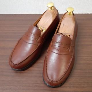 ジェーエムウエストン(J.M. WESTON)の旧ロゴ] 貴重 ジェイエムウエストン シグニチャーロ-ファー ペニーローファー(ローファー/革靴)