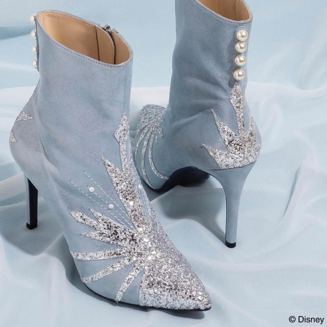 DIANA(ダイアナ)のダイアナ エルサ ブーツ 24cm アナと雪の女王2 ディズニー レディースの靴/シューズ(ブーツ)の商品写真