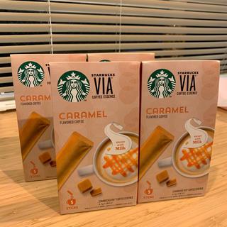 Starbucks Coffee - スターバックスヴィアコーヒーエッセンス キャラメル スティック20本