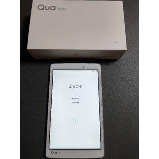 エルジーエレクトロニクス(LG Electronics)のQUA TAB PX LGT31ホワイト 防水(タブレット)