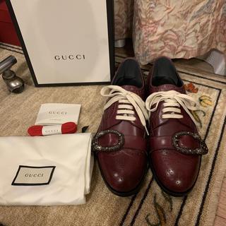 Gucci - 新品未使用付属品完備 Gucci グッチ ドレスシューズ  革靴