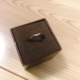 アガット(agete)のagete ピンキーリング 3号(リング(指輪))