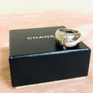 シャネル(CHANEL)のCHANEL シャネル✨ロゴ リング✨スターリング シルバー 925(リング(指輪))