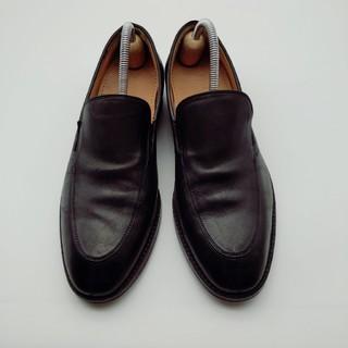 Cole Haan - コールハーン COLE HAAN ローファー 黒 7のハーフ 中古 革靴