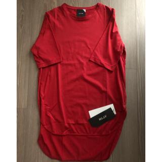 デミルクスビームス(Demi-Luxe BEAMS)のATONエイトン レディース 定番Tシャツカットソー新品未使用(Tシャツ(半袖/袖なし))