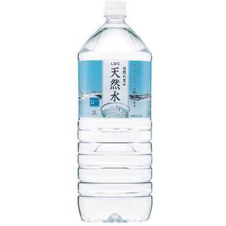 ライフドリンクカンパニー 自然の恵み天然水 2L ×6本