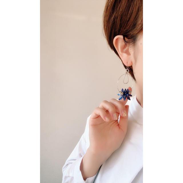 20-050 pierce ハンドメイドのアクセサリー(ピアス)の商品写真