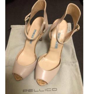 ペリーコ(PELLICO)のペリーコ  バックストラップサンダル  サイズ38(サンダル)