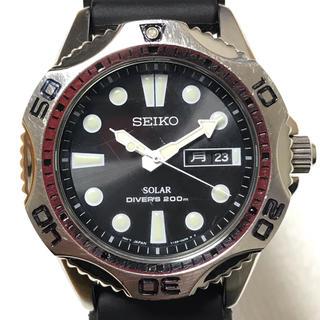 セイコー(SEIKO)のセイコー プロスペックス スキューバエアダイバー ソーラー電池V158-0AE0(腕時計(アナログ))