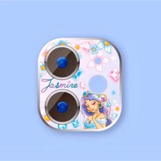ディズニー(Disney)のiPhone11pro/promax用❤️ジャスミンのカメラレンズカバー❤️即送(保護フィルム)