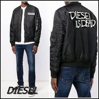 DIESEL - 国内未販売 新品 タグ付 DIESEL ディーゼル ブランドロゴ ジャケット