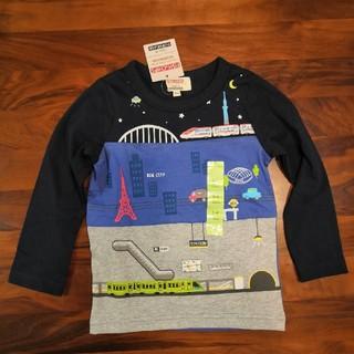 マザウェイズ(motherways)のゆらら52様専用 マザウェイズ 新幹線ロンT 104(Tシャツ/カットソー)