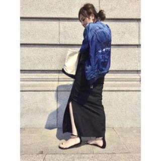 L'Appartement DEUXIEME CLASSE - アパルトモン購入  ネイビースカート  最小サイズ34