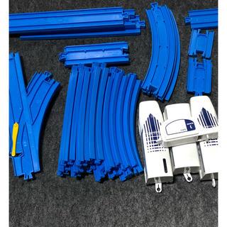 トミー(TOMMY)のプラレール 笛コン超電導リニアOL系 レールセット 中古(電車のおもちゃ/車)