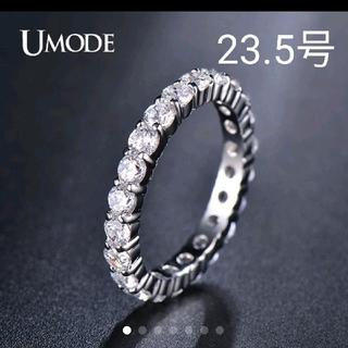 《新品》値下げ❗23.5号 海外 エターナル ラブ リング①(リング(指輪))