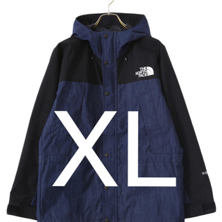 ザノースフェイス(THE NORTH FACE)のXL mountain light denim jacket(マウンテンパーカー)