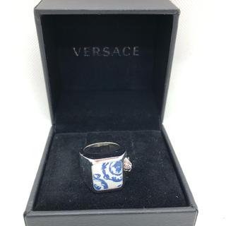 VERSACE ヴェルサーチ リング 指輪 メデューサ シルバー リング17号