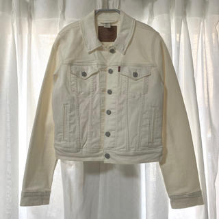 Levi's - Levi's*white denim jacket g jean