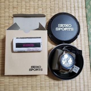 セイコー(SEIKO)のSEIKO  WIRED クロノグラフ 新品未使用(腕時計(アナログ))