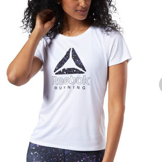 リーボック(Reebok)のリーボック グラフィック ランニングTシャツ(Tシャツ(半袖/袖なし))