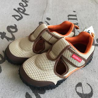 ダブルビー(DOUBLE.B)のダブルビー  新品未使用 夏用靴 18センチ(スニーカー)