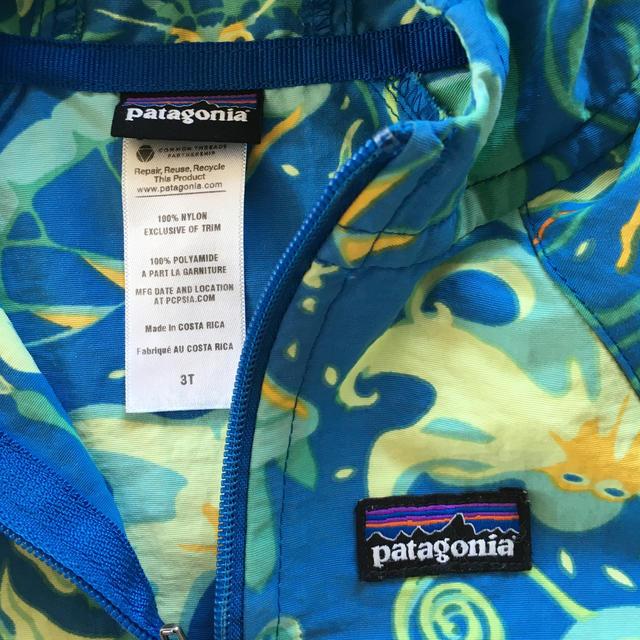 patagonia(パタゴニア)のパタゴニア Patagonia アウター 子ども キッズ 3T キッズ/ベビー/マタニティのキッズ服男の子用(90cm~)(ジャケット/上着)の商品写真