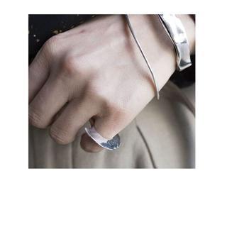 限定値下 8uede ウェーバーリング  シルバー(リング(指輪))