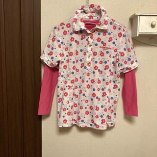 マリクレール(Marie Claire)のレディース ゴルフ mareclaireシャツ(シャツ/ブラウス(半袖/袖なし))