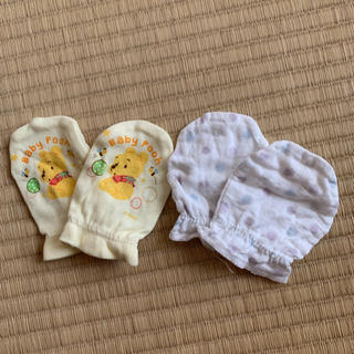 ディズニー(Disney)のベビーミトン(手袋)