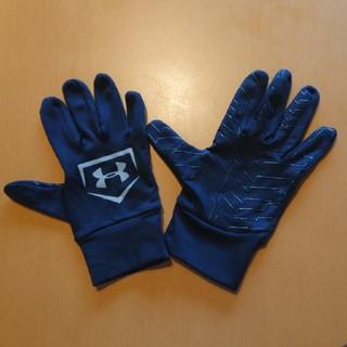 アンダーアーマー(UNDER ARMOUR)のunder armour スポーツ手袋(滑り止めつき)(手袋)