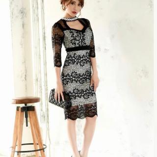 リュリュ(RyuRyu)のタイトドレス(ミディアムドレス)