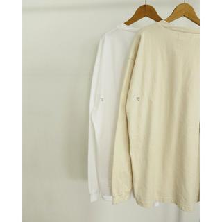 トゥデイフル(TODAYFUL)のHeart Long T-Shirts  エクリュ(Tシャツ/カットソー(七分/長袖))