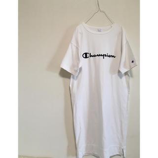チャンピオン(Champion)のChampion Tシャツワンピ(ひざ丈ワンピース)