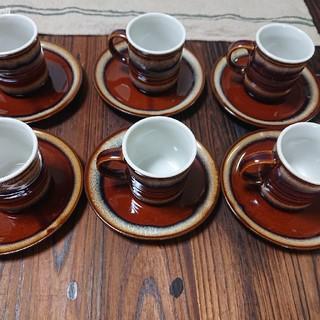 エスプレッソ コーヒーカップ&ソーサー 6客(グラス/カップ)