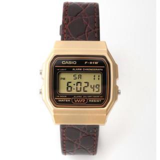 ドゥーズィエムクラス(DEUXIEME CLASSE)のドゥーズィエムクラス  CASIO WATCH 腕時計 新品(腕時計)