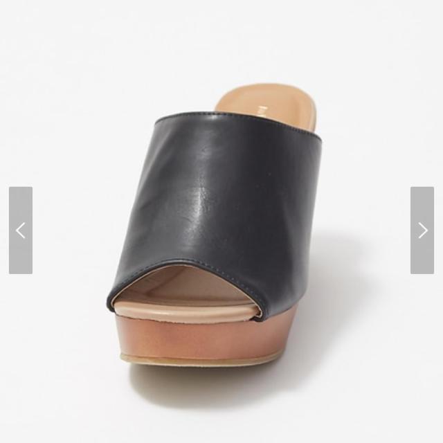 AU BANNISTER(オゥバニスター)のAu BANNISTER 【販売店舗限定】ミュール 新品未使用品 レディースの靴/シューズ(ミュール)の商品写真