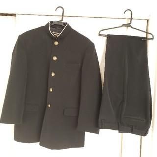 カンコー学生服175A上下セット 夏ズボンと新品Yシャツ付