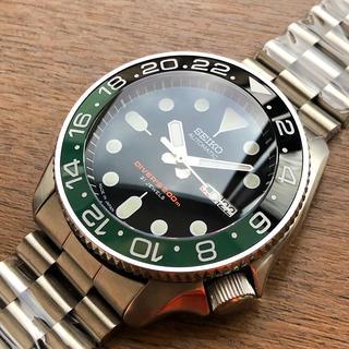 セイコー(SEIKO)のSEIKO SKX007 ブラックボーイ カスタム‼️(腕時計(アナログ))