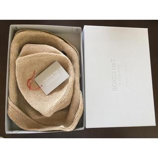 ネストローブ(nest Robe)の専用ですmature ha. boxed hat 11cm brimマチュアーハ(麦わら帽子/ストローハット)