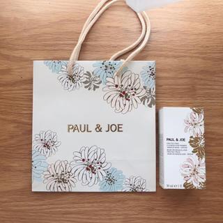 ポールアンドジョー(PAUL & JOE)のポール&ジョー プロテクディングファンデーション プライマー01 箱&ショッパー(ショップ袋)