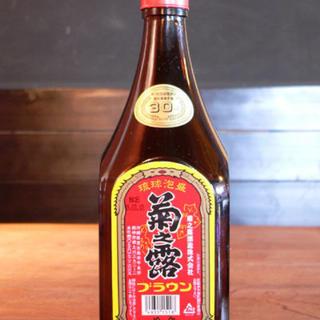沖縄泡盛/菊の露 ブラウン(焼酎)