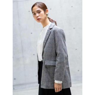 ◎koe◎ 洗えるジャケット グランチェック レディース  M